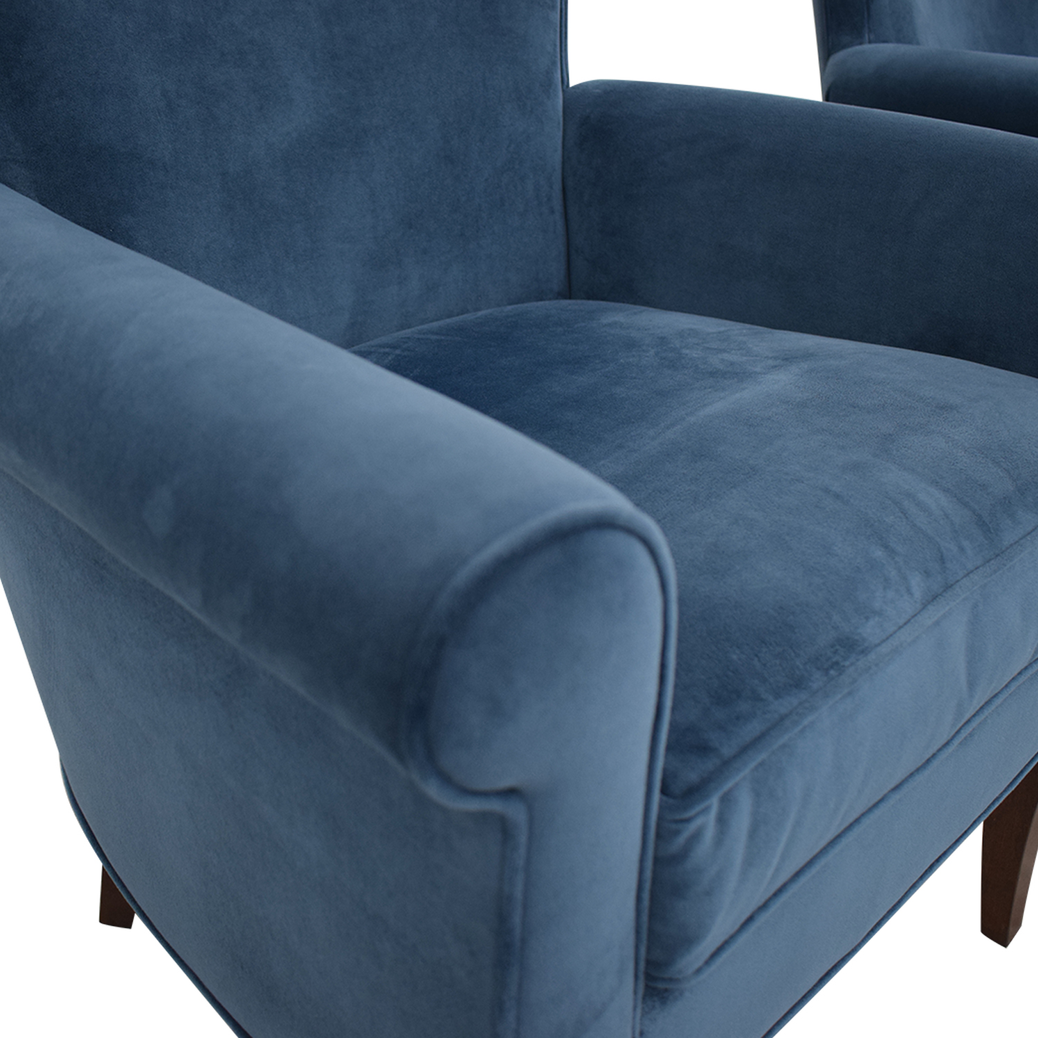 Stickley Furniture Stickley Furniture Sonoma Blue Accent Arm Chairs coupon