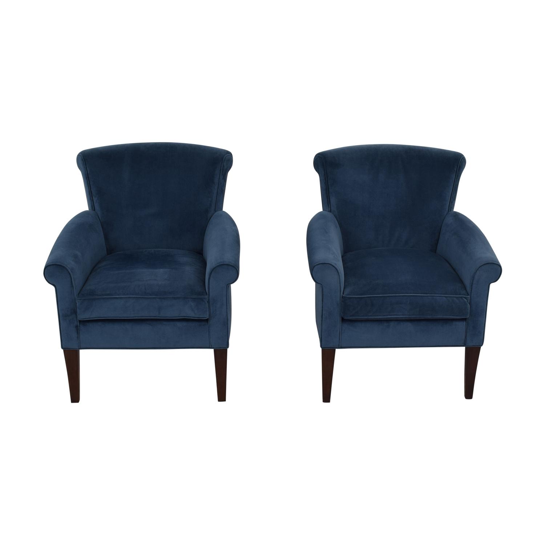 shop Stickley Furniture Sonoma Blue Accent Arm Chairs Stickley Furniture Chairs