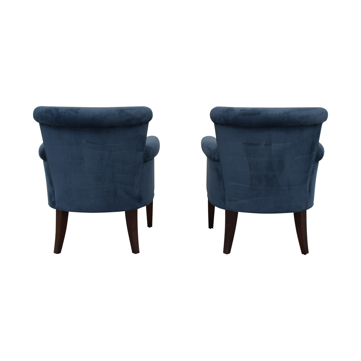 Stickley Furniture Sonoma Blue Accent Arm Chairs sale
