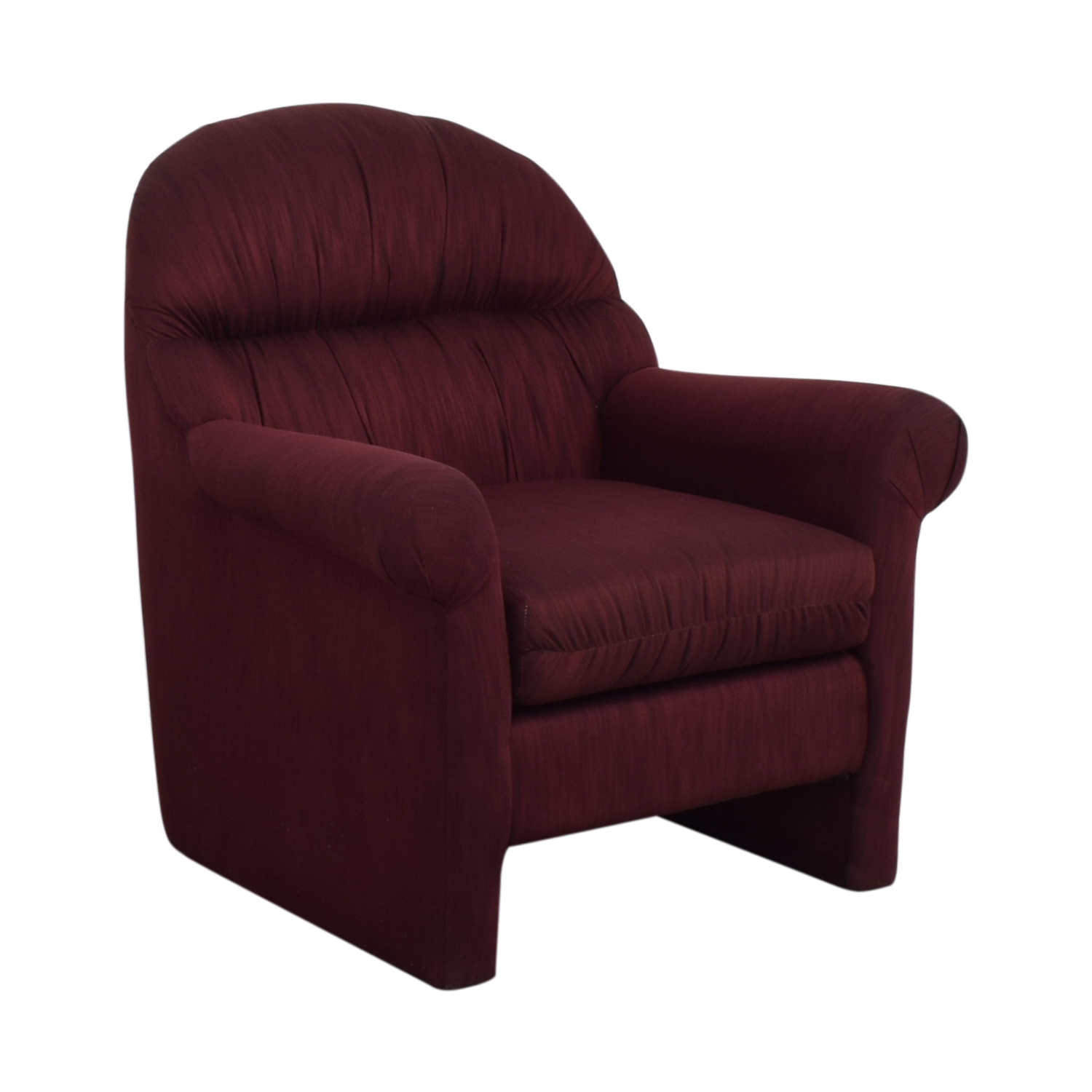 buy Jennifer Furniture Burgundy Accent Chair Jennifer Furniture Accent Chairs