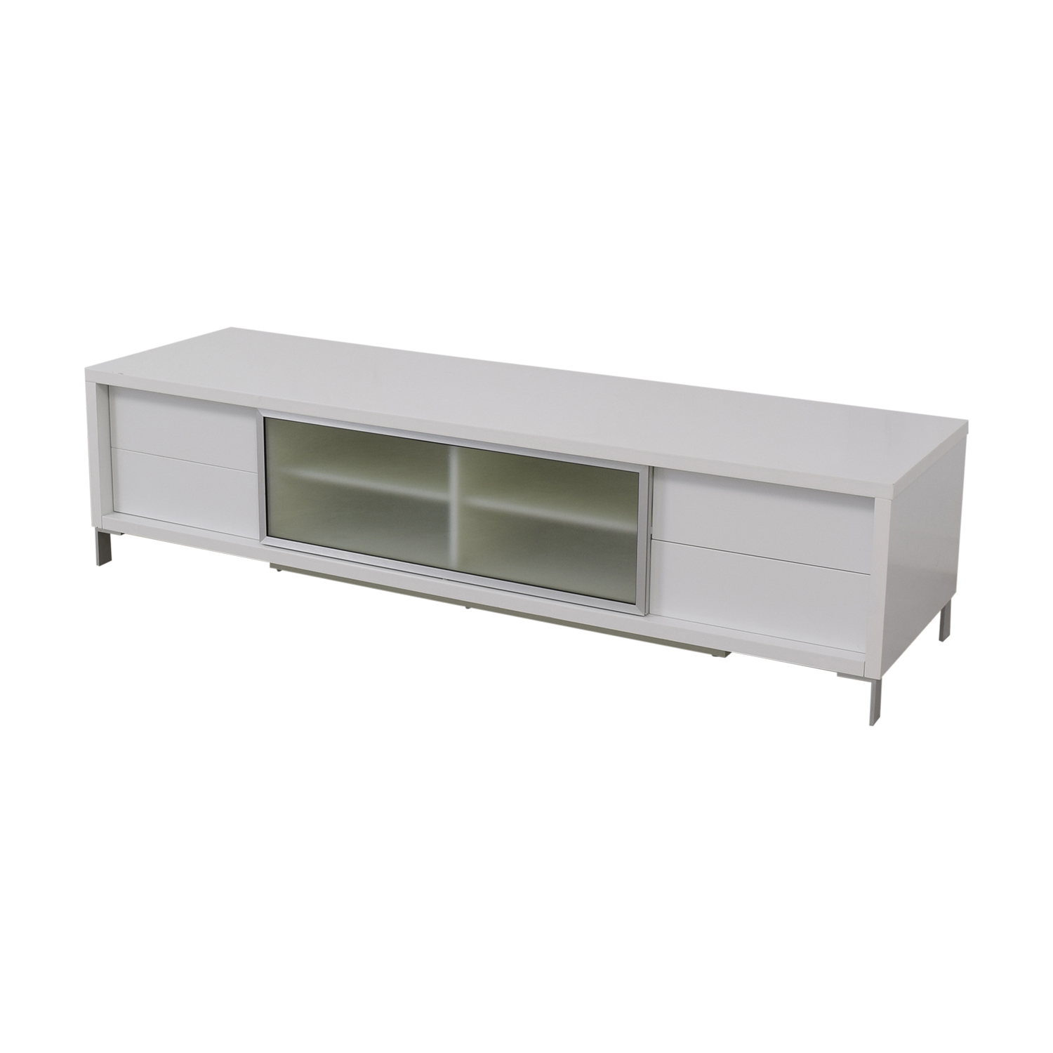 White Media Console coupon