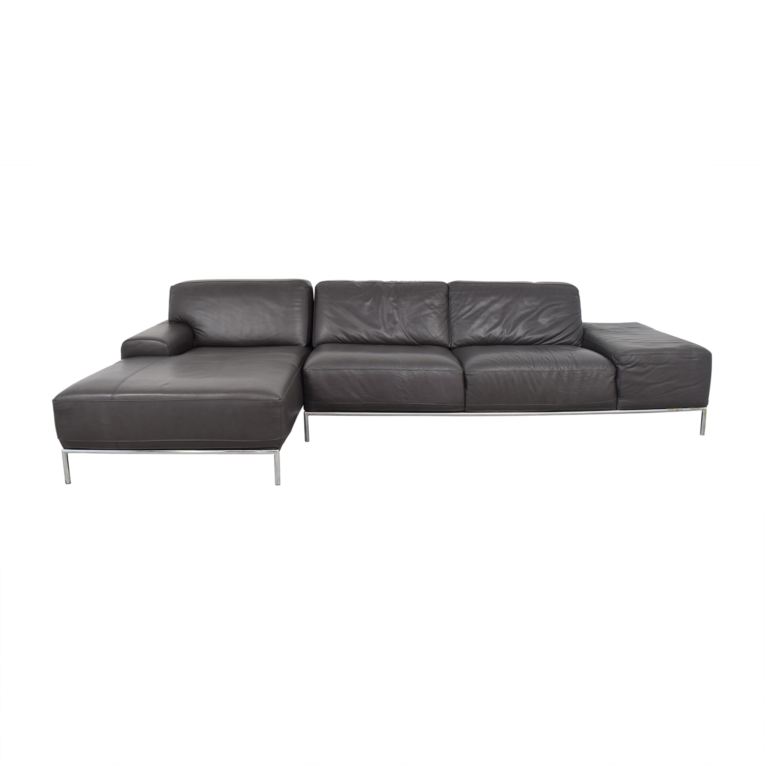 shop Chateau d'Ax Grey Sectional Chateau d'Ax Sofas