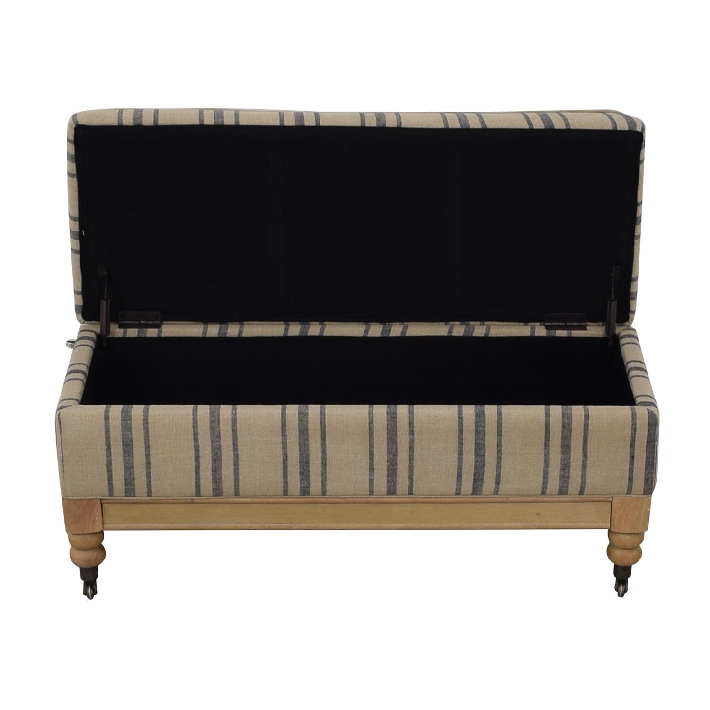 shop  Padded Storage Bench online