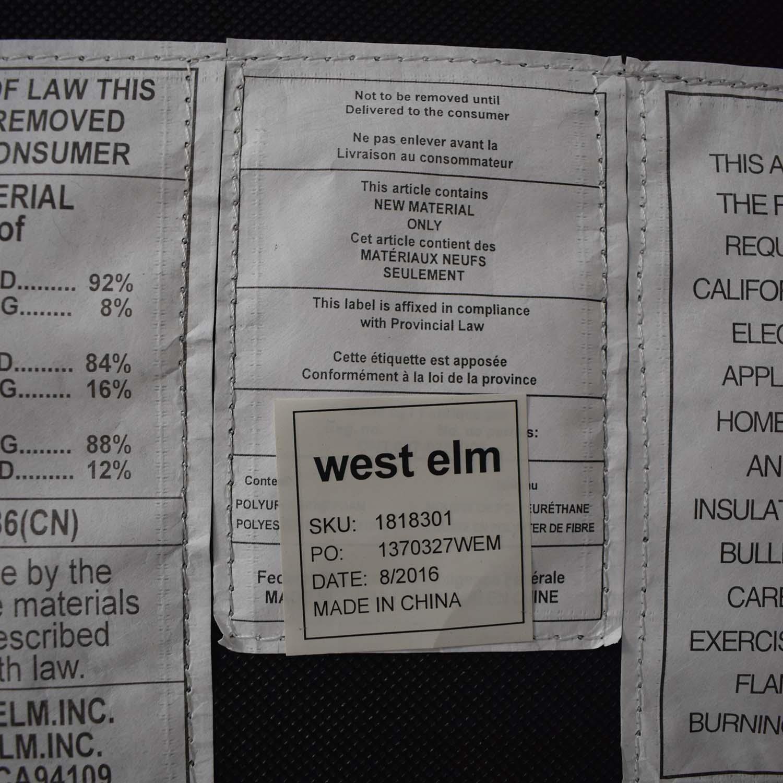 shop West Elm Eddy Sofa West Elm Classic Sofas
