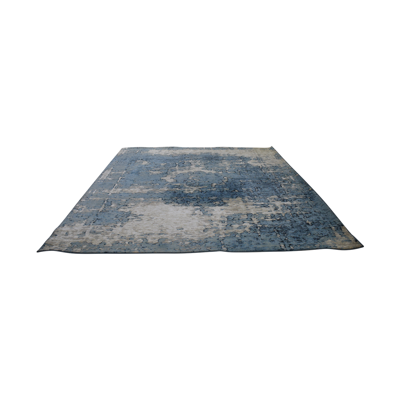 nuLOOM Blue Cloud Abstract Rug sale