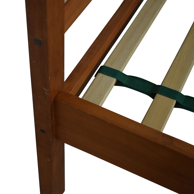Scott Jordan Furniture Scott Jordan Cherry Beige Upholstered Platform King Bed Frame coupon
