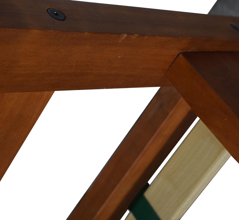 Scott Jordan Furniture Scott Jordan Cherry Beige Upholstered Platform King Bed Frame discount