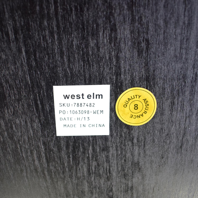West Elm West Elm Parson Style Extendable Dining Table black