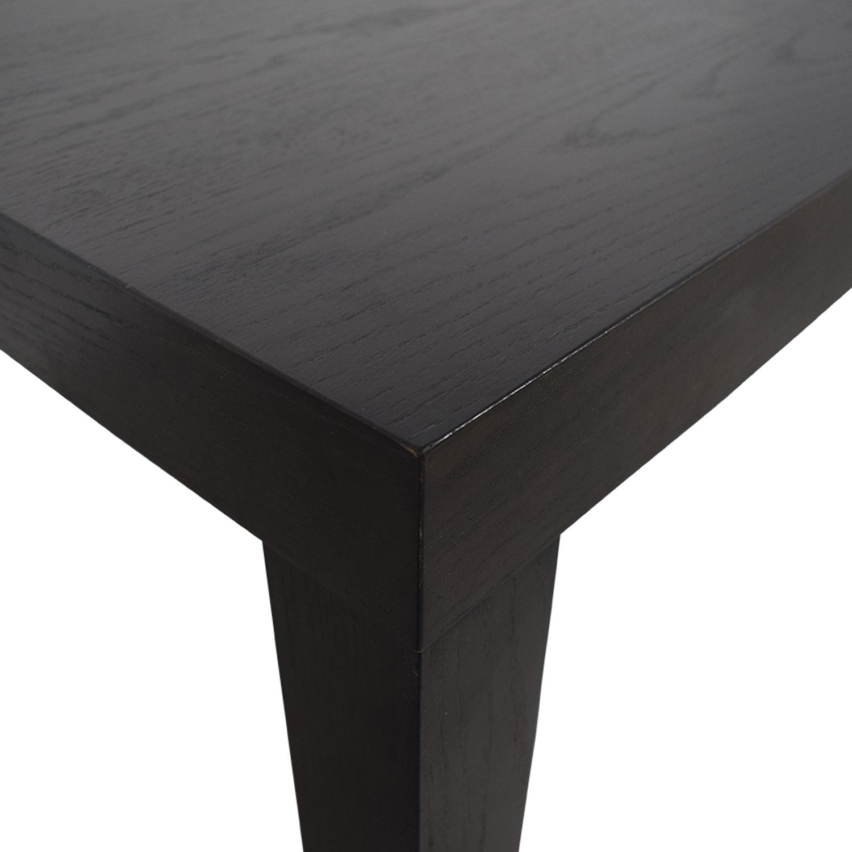 West Elm Parson Style Extendable Dining Table sale