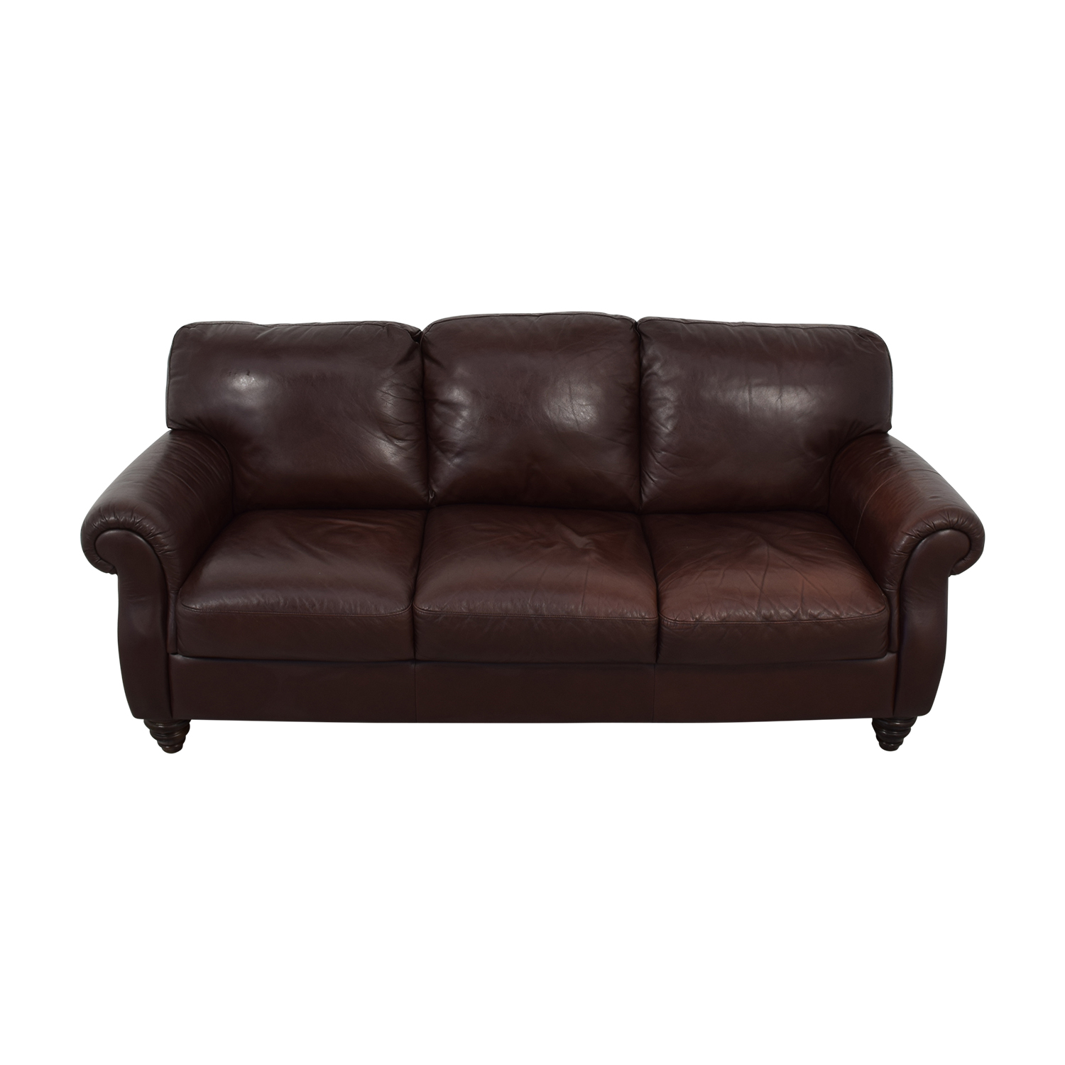 Fortunoff Italsofa Brown