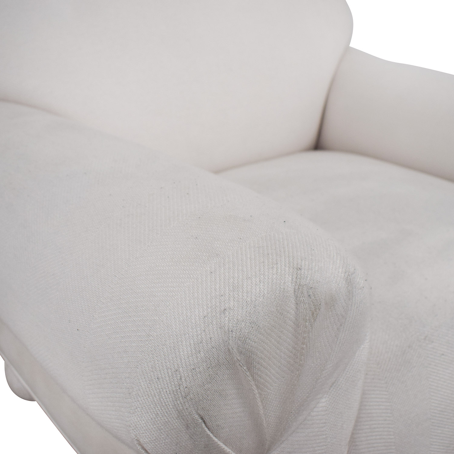 White Club Accent Chair coupon