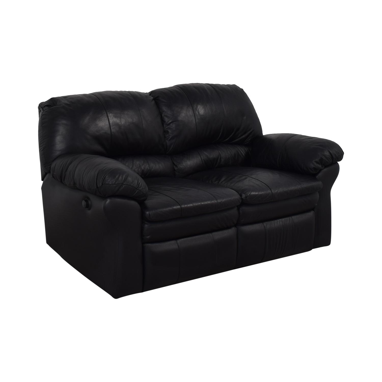 Berkline Berkline Reclining Love Seat Sofas