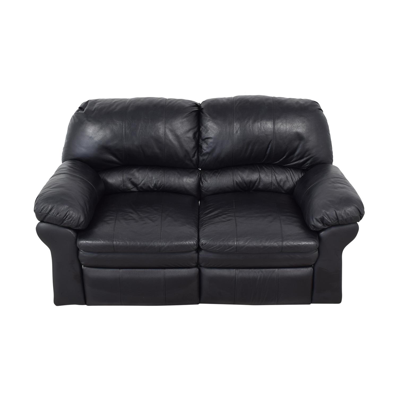 Used Sofas Online: Berkline Berkline Reclining Love Seat / Sofas
