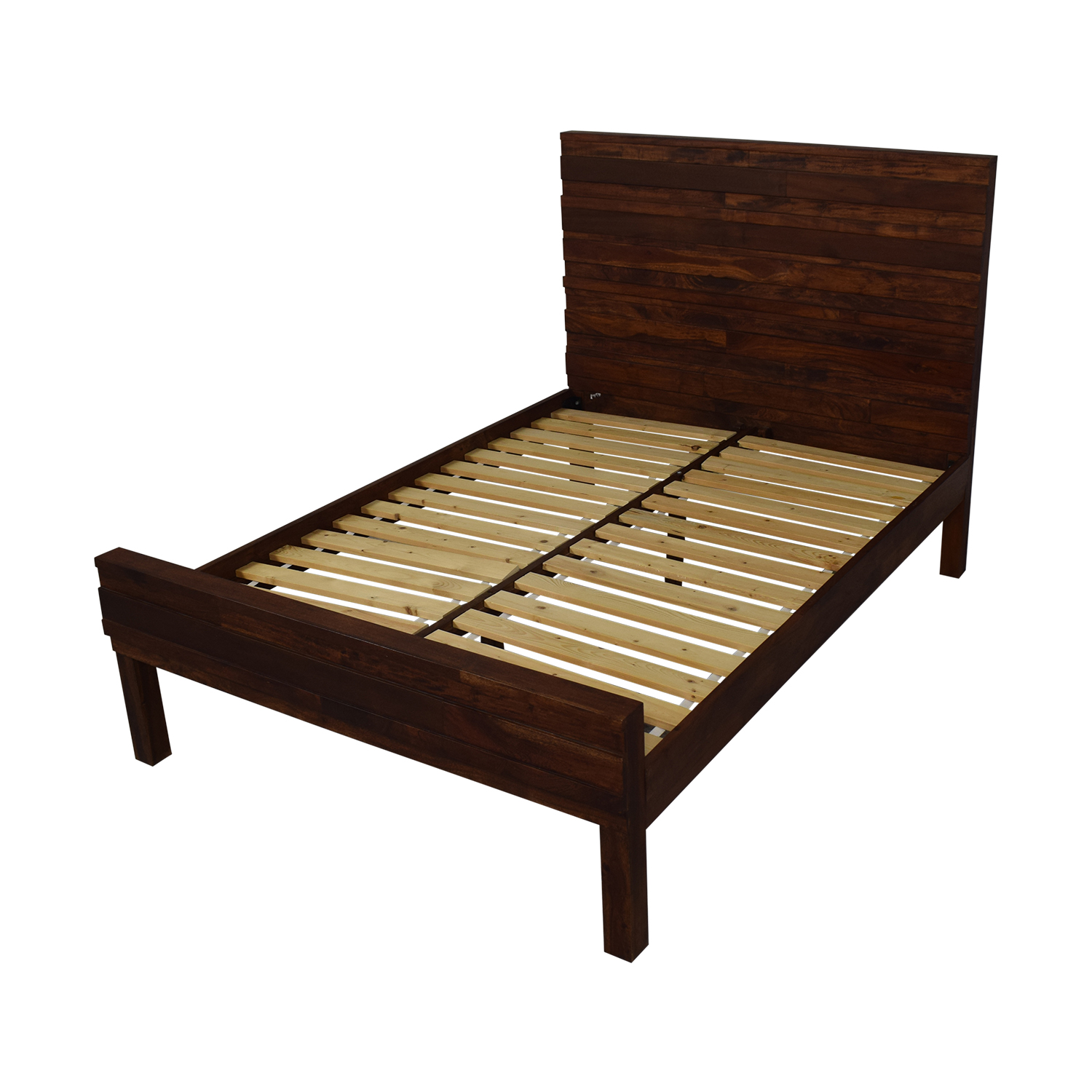 buy West Elm Stria Full Bed Frame West Elm Bed Frames