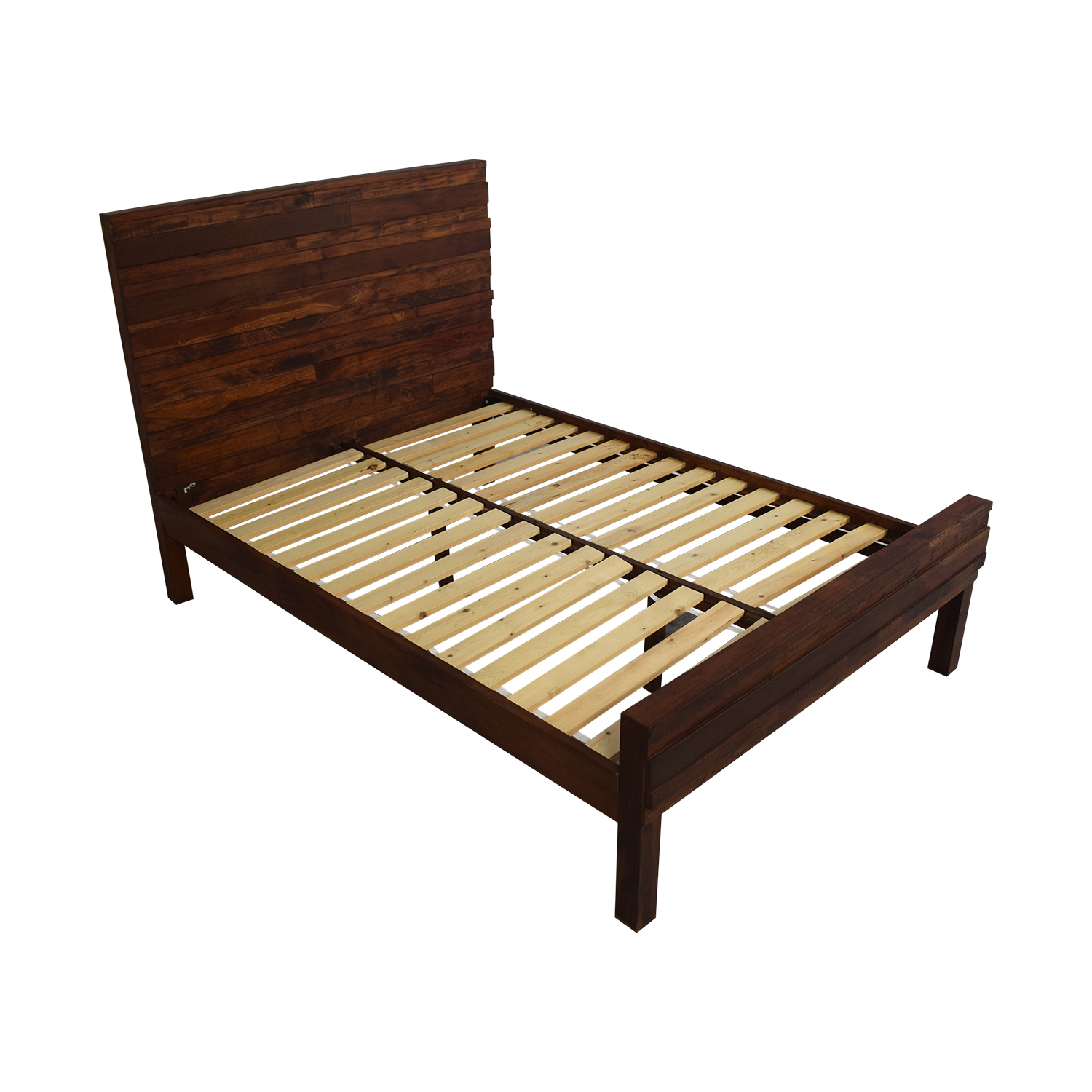 shop West Elm Stria Full Bed Frame West Elm Beds