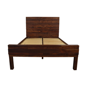 West Elm West Elm Stria Full Bed Frame dimensions