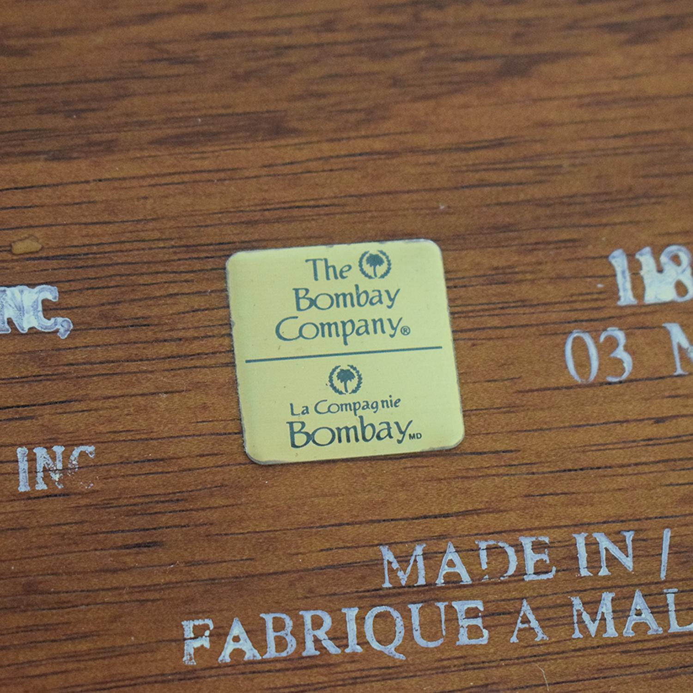 Bombay Company Bombay Company Three-Drawer Desk dimensions