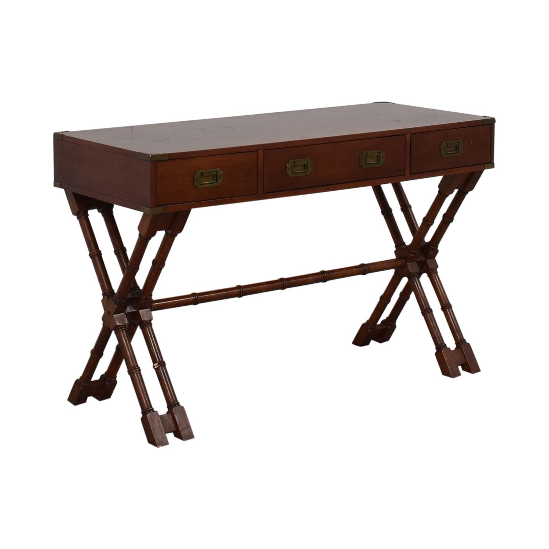 Bombay Company Bombay Company Three-Drawer Desk