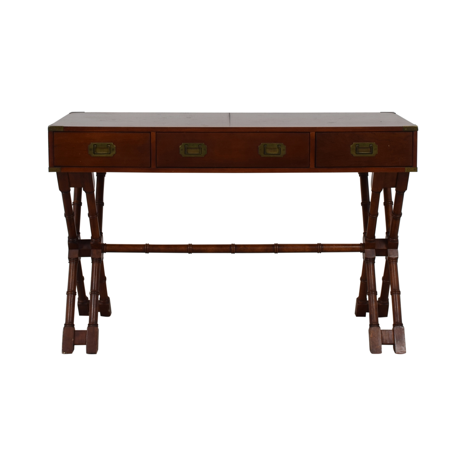 Bombay Company Bombay Company Three-Drawer Desk discount