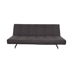shop CB2 Grey Full Sofa Bed CB2 Sofas