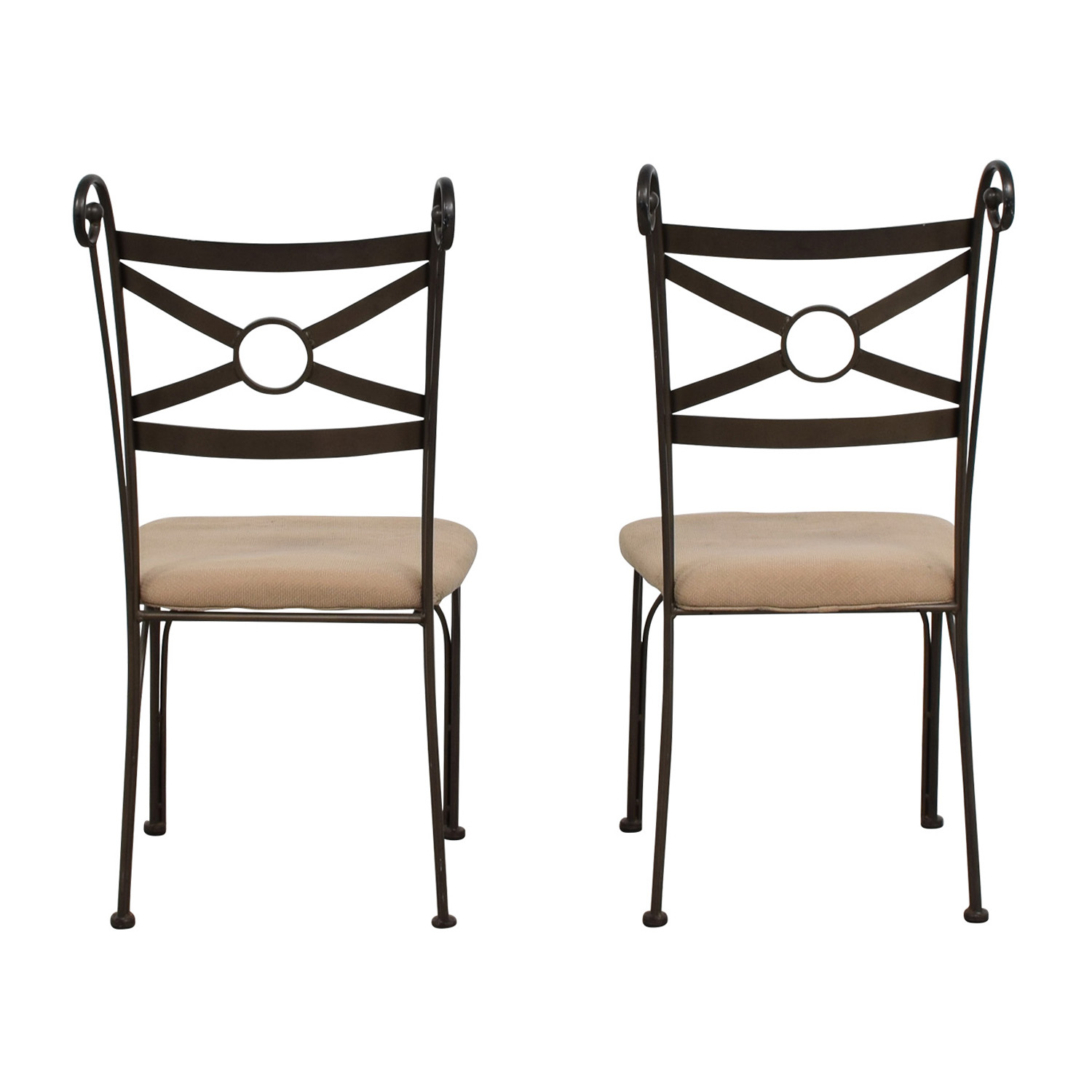 shop Fabric and Metal Chairs