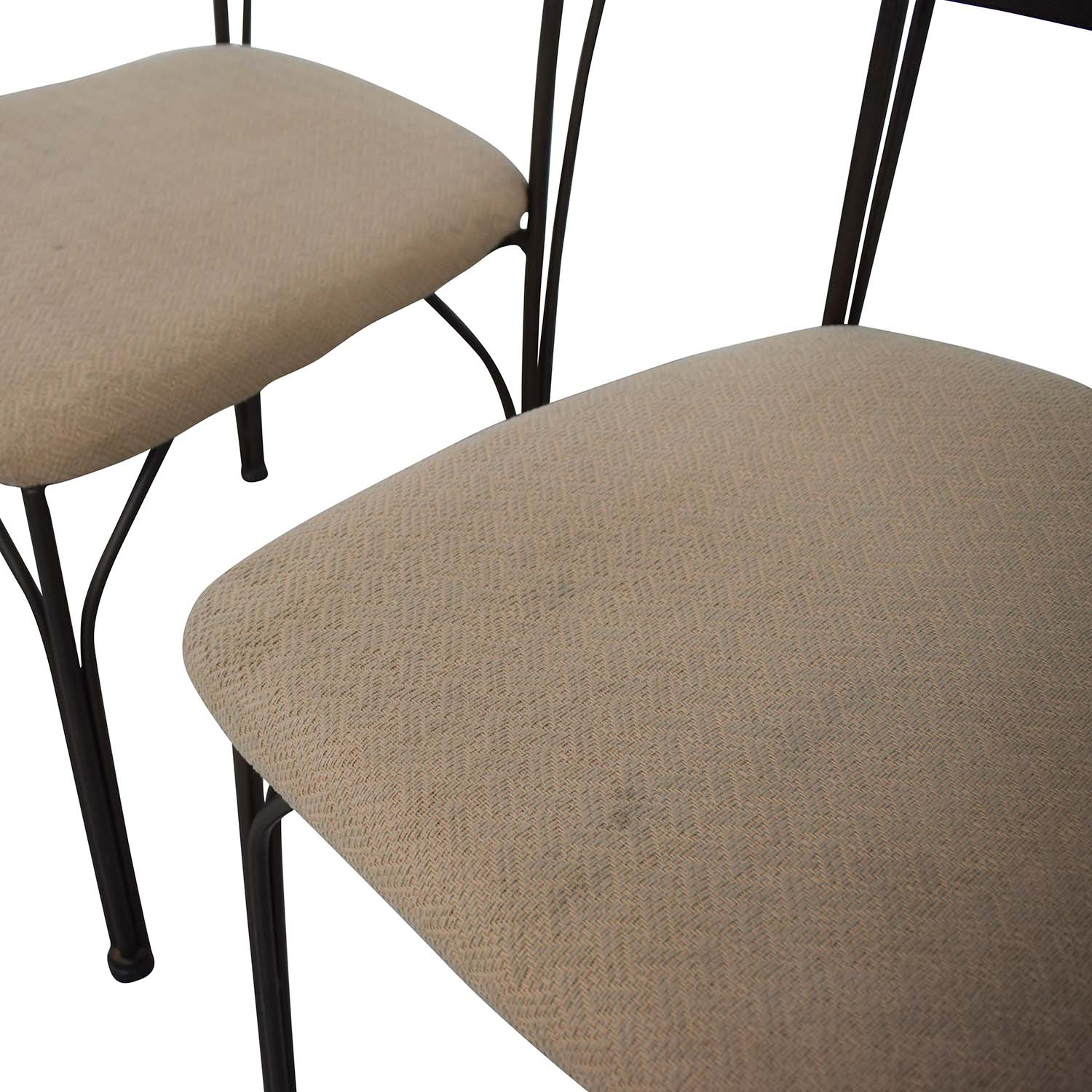 buy Fabric and Metal Chairs  Dining Chairs