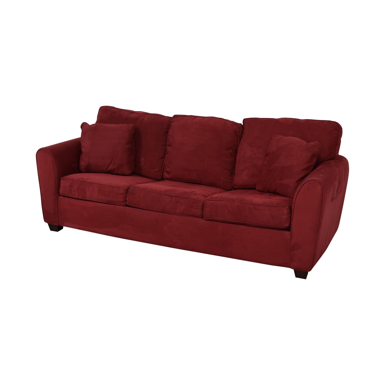 Macy's Red Sleeper Sofa Macy's