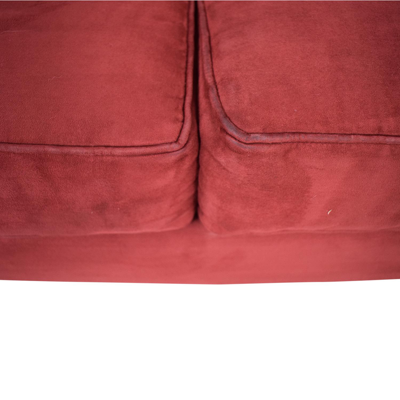 Macy's Red Sleeper Sofa / Sofas