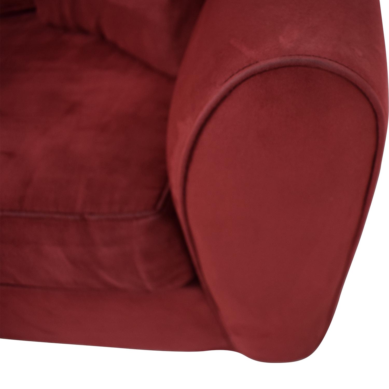 Macy's Macy's Red Sleeper Sofa coupon