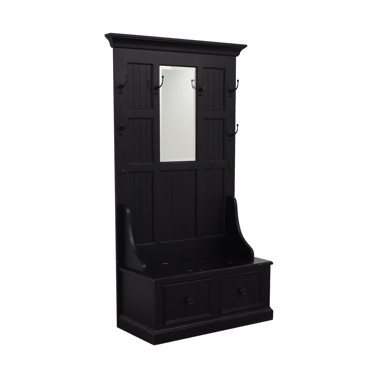Ethan Allen Ethan Allen Charcoal Logan Hall for sale