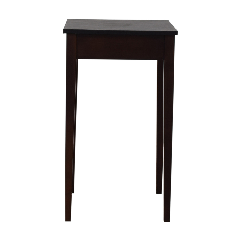 Small Square End Table used