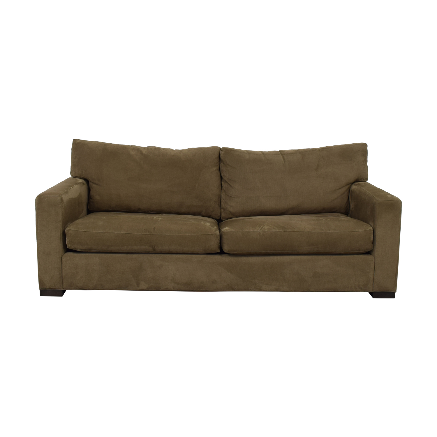 Crate & Barrel Crate & Barrel Axis II Queen Sleeper Sofa brown