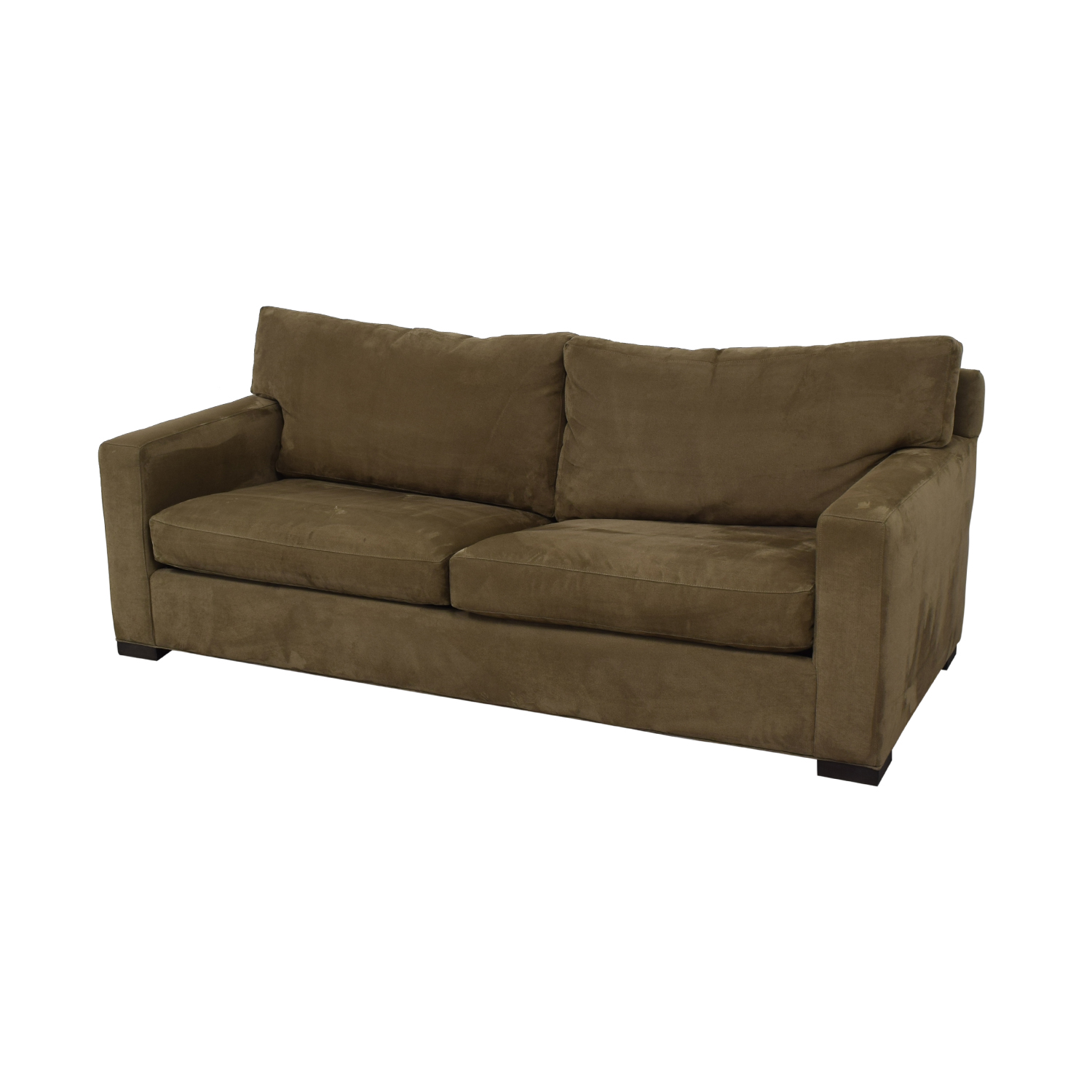 Crate & Barrel Crate & Barrel Axis II Queen Sleeper Sofa dimensions