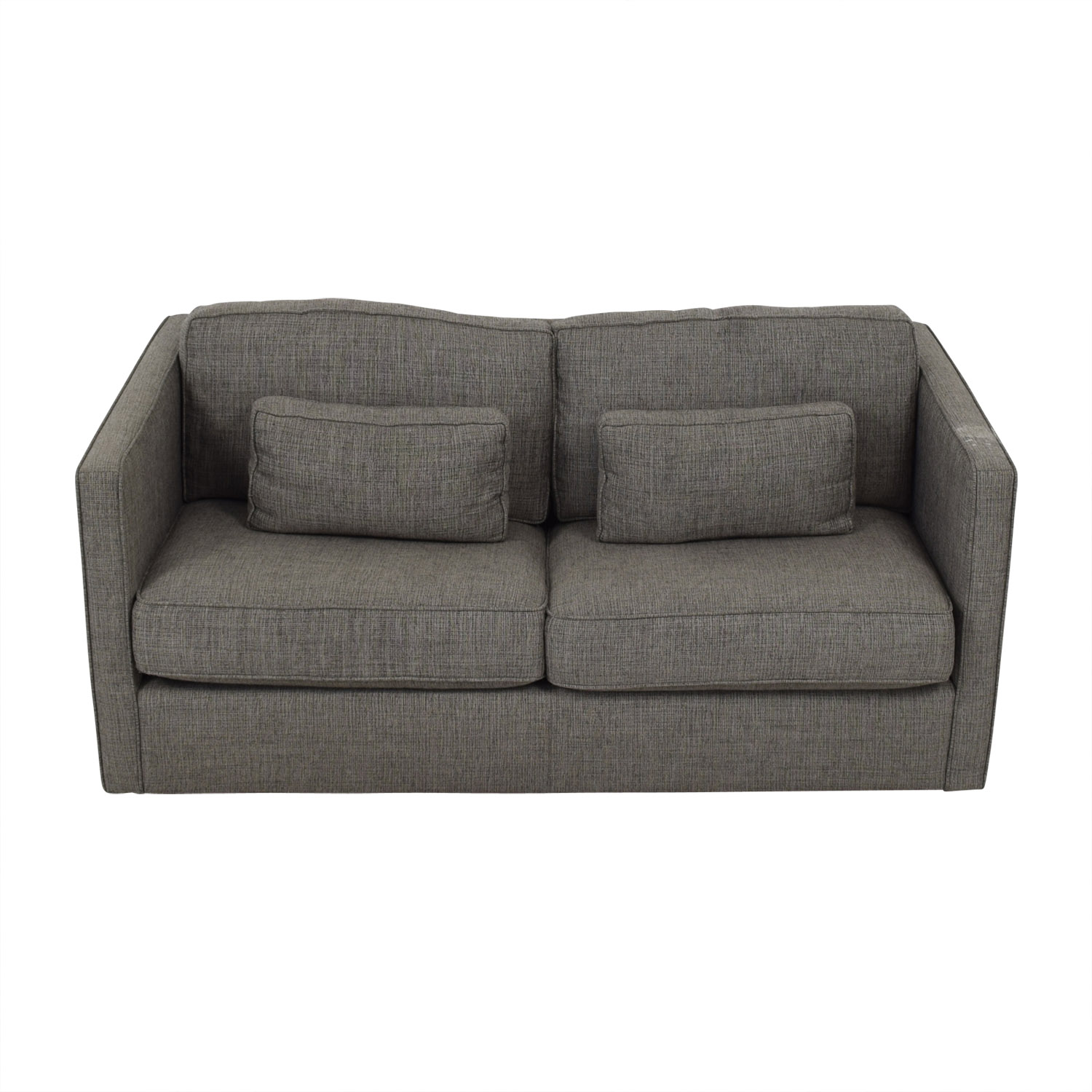 Room & Board Room & Board Gray Woven Full Sleeper Sofa for sale