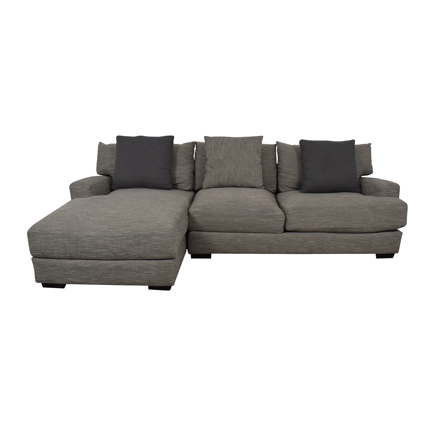 buy Raymour & Flanigan Leighton Two-Piece Sectional Sofa Raymour & Flanigan Sofas
