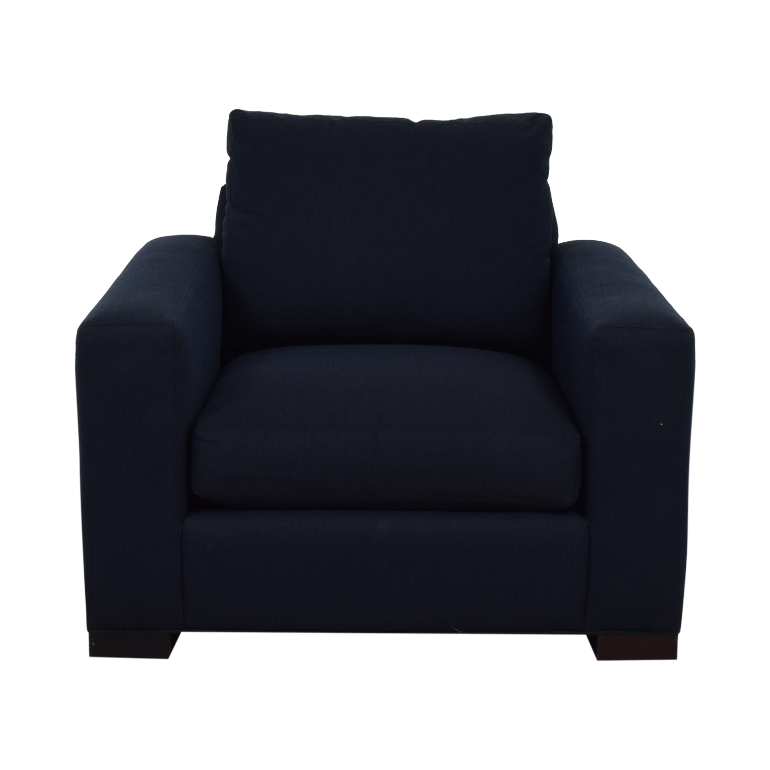 Room & Board Room & Board Blue Accent Armchair blue