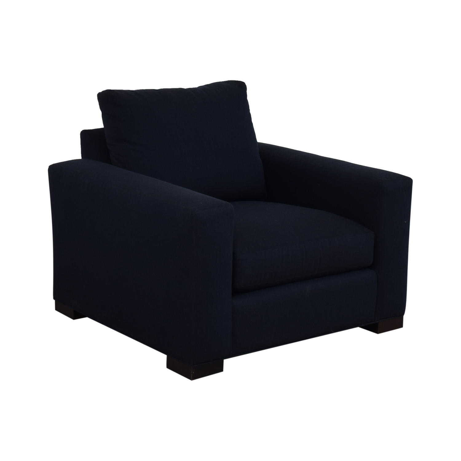 buy Room & Board Blue Accent Armchair Room & Board Accent Chairs