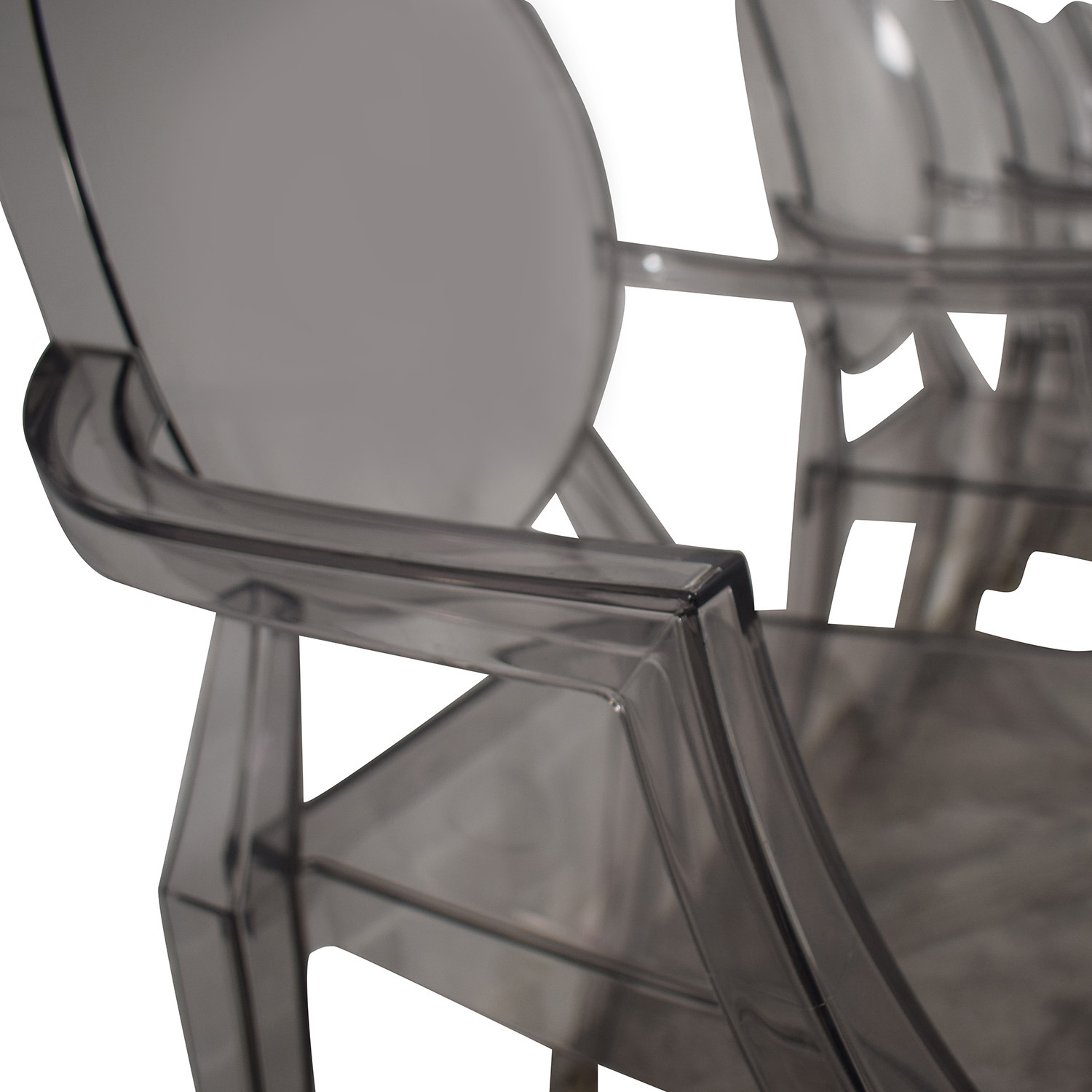 Kartell Kartell Philippe Stark Ghost Dining Chairs discount