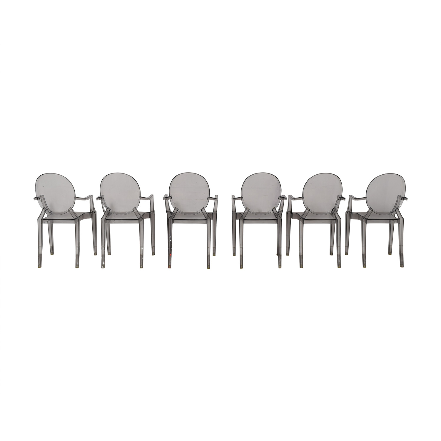 Kartell Kartell Philippe Stark Ghost Dining Chairs dimensions