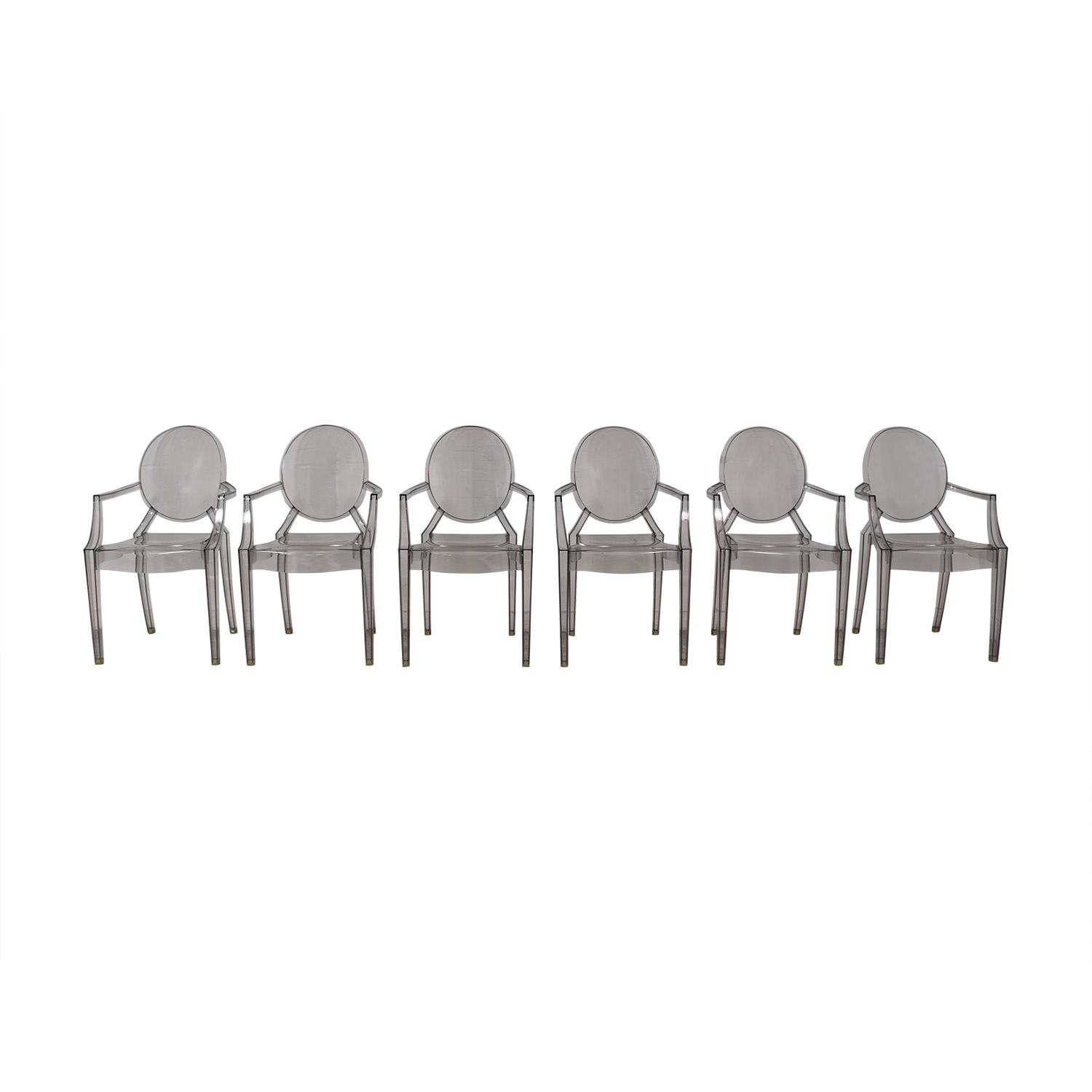 buy Kartell Kartell Philippe Stark Ghost Dining Chairs online