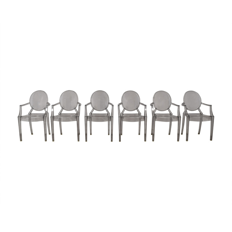 Kartell Kartell Philippe Stark Ghost Dining Chairs on sale