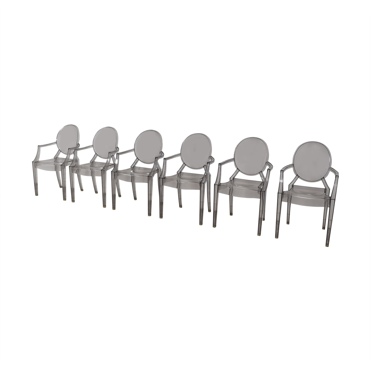 buy Kartell Philippe Stark Ghost Dining Chairs Kartell Dining Chairs