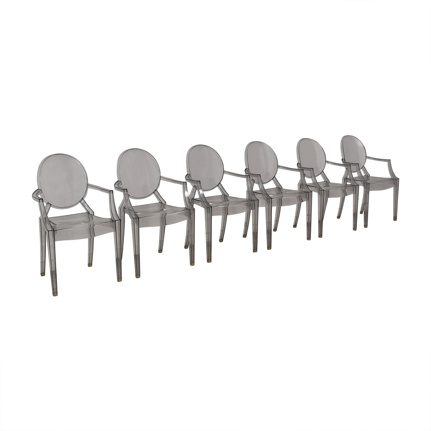 Kartell Kartell Philippe Stark Ghost Dining Chairs nj