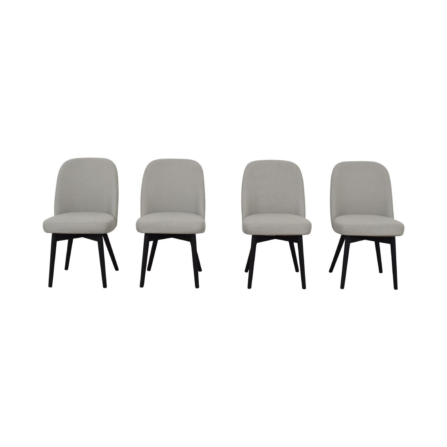 buy Dylan Grey Dining Chairs Interior Define