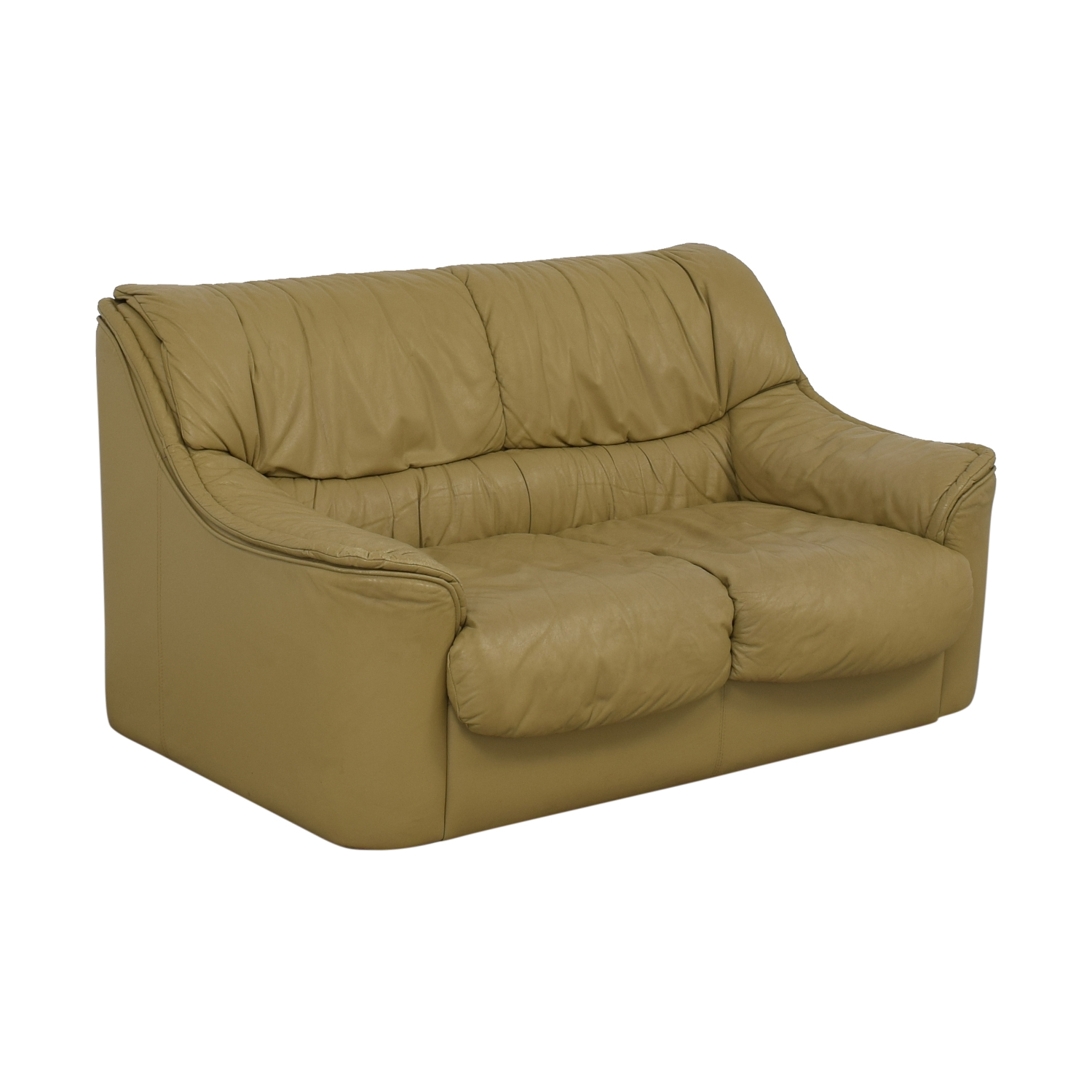 shop Taupe Two-Cushion Sofa  Classic Sofas
