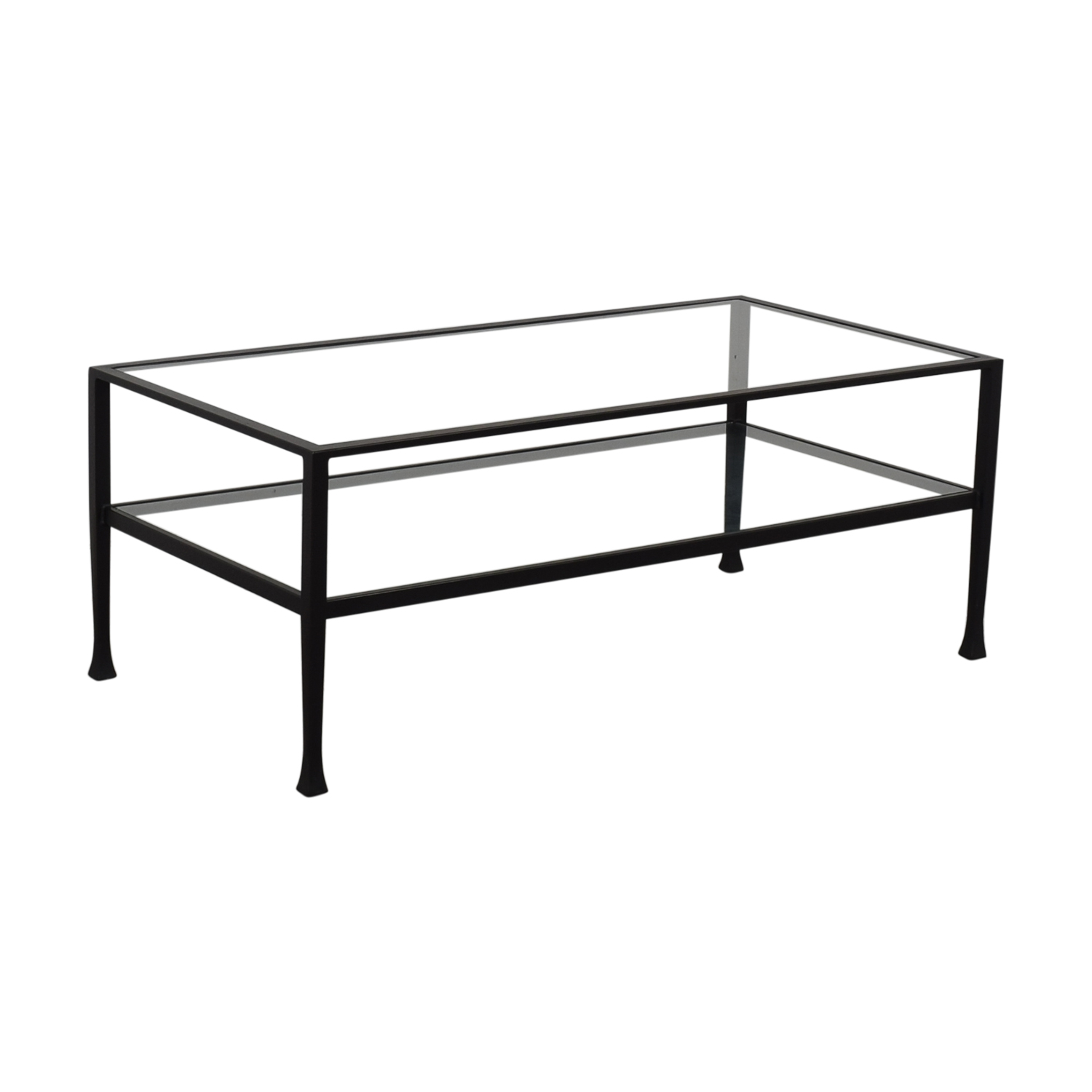 Pottery Barn Tanner Rectangular Coffee Table sale