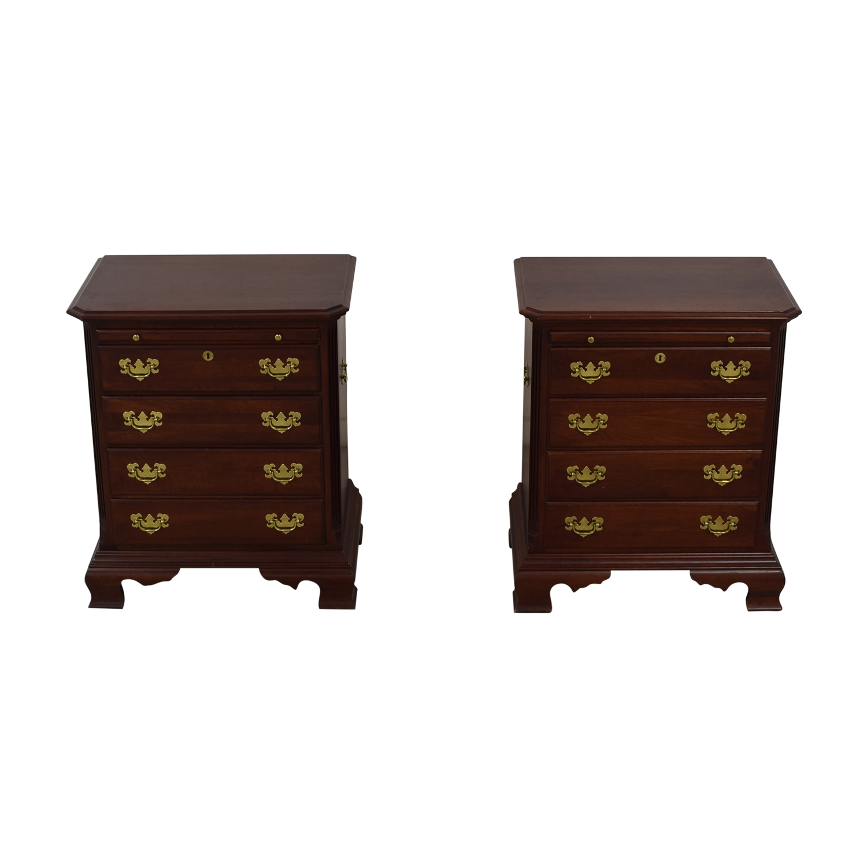 Kincaid Furniture Kincaid Furniture Mahogany Side Tables Cherry