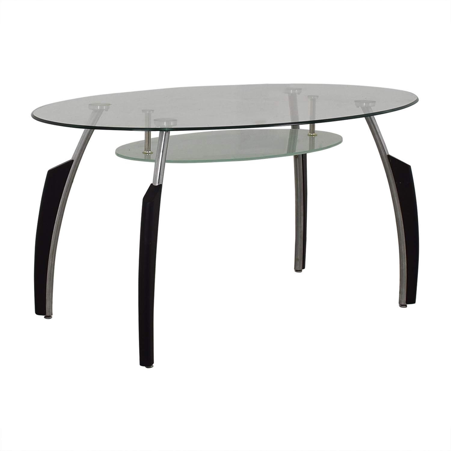 AE Furniture Oval Dining Table used