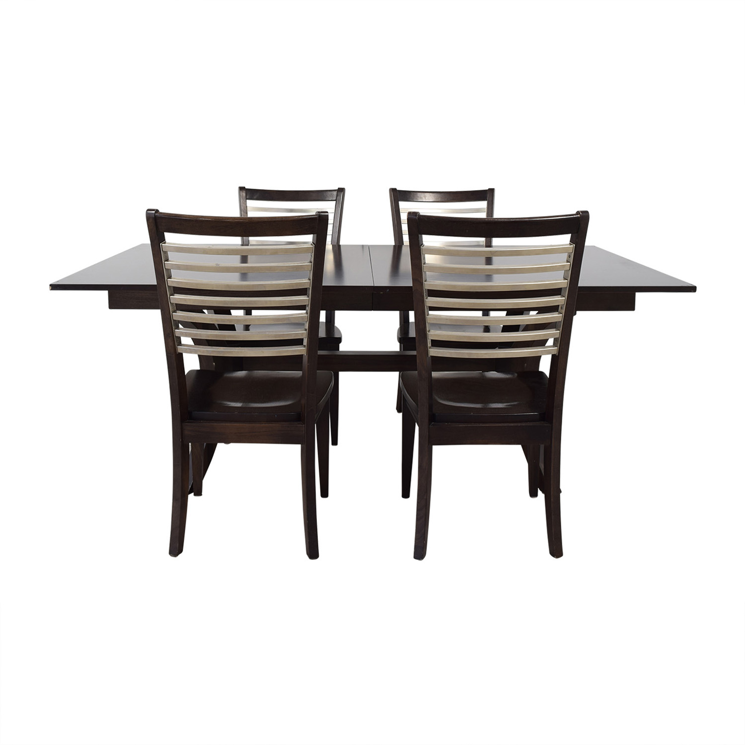 Bassett Furniture Bassett Furniture Extendable Dining Set on sale