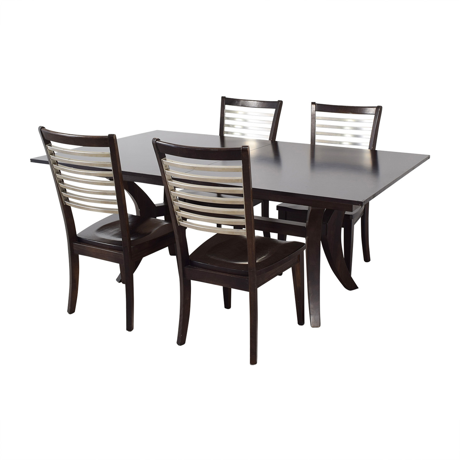Bassett Furniture Bassett Furniture Extendable Dining Set discount